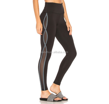 Girls Base Layer Black Activewear Pants Skin Tights Compression Running Leggings with Pockets