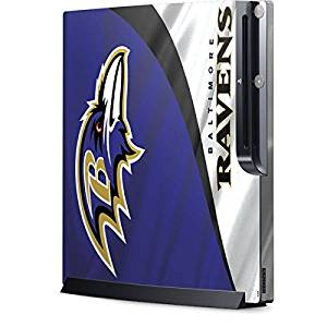 NFL Baltimore Ravens Playstation 3 & PS3 Slim Skin - Baltimore Ravens Vinyl Decal Skin For Your Playstation 3 & PS3 Slim