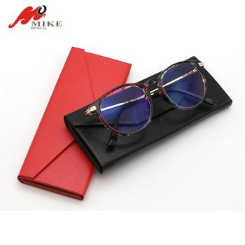 Portable Glasses Case Folding Triangle