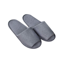 folding portable shoes folding hotel terry slipper for men and women