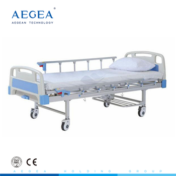 Single crank function manual free used hospital beds sales wholesale