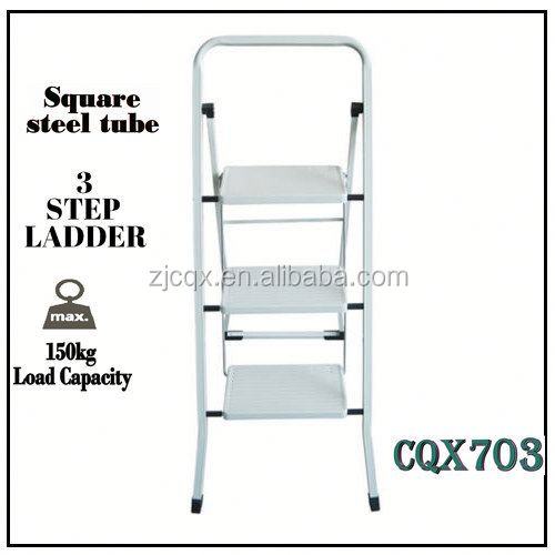 3 Step Foldable Ladder 25-75cm Step -5.9kg Lightweight/Stool/Folding