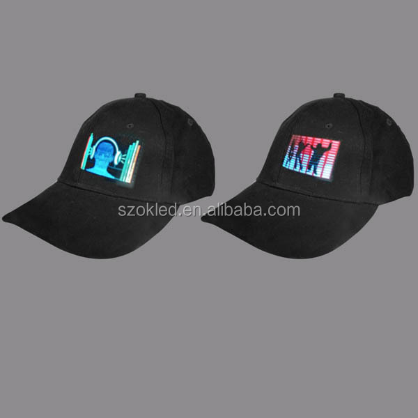 Hot sale! Sound Active EL Flashing Baseball Cap
