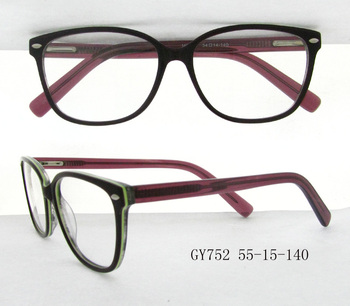 Manufacturer In China Cheap Acetate Types Of Spectacles Frame ...