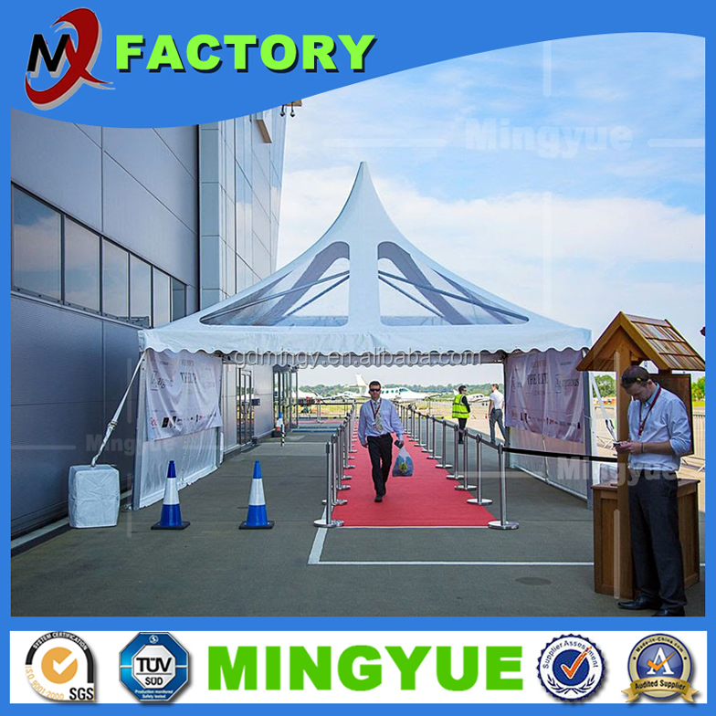 30x50 Aluminum Frame Tent with PVC Roof Cover Heavy duty