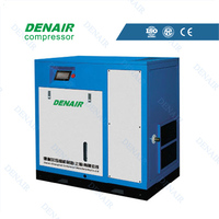 Low pressure compressor for sand blasting