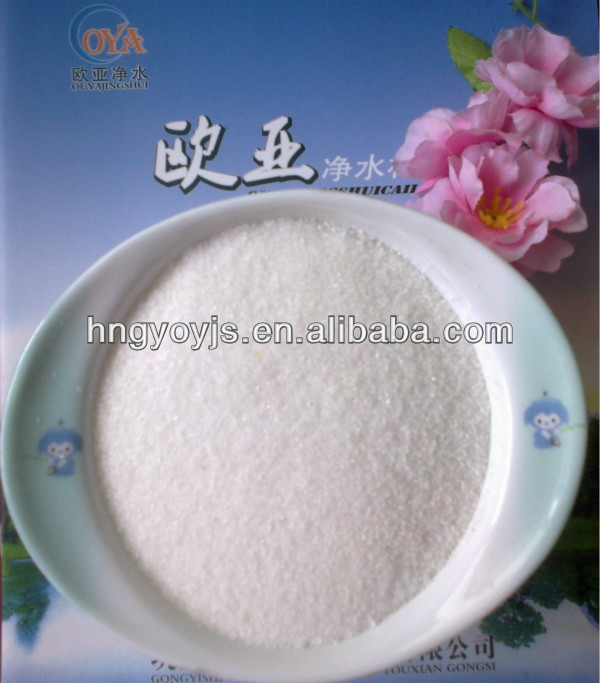 Cationic polyacrylamide flocculating agent sell well in Middle East