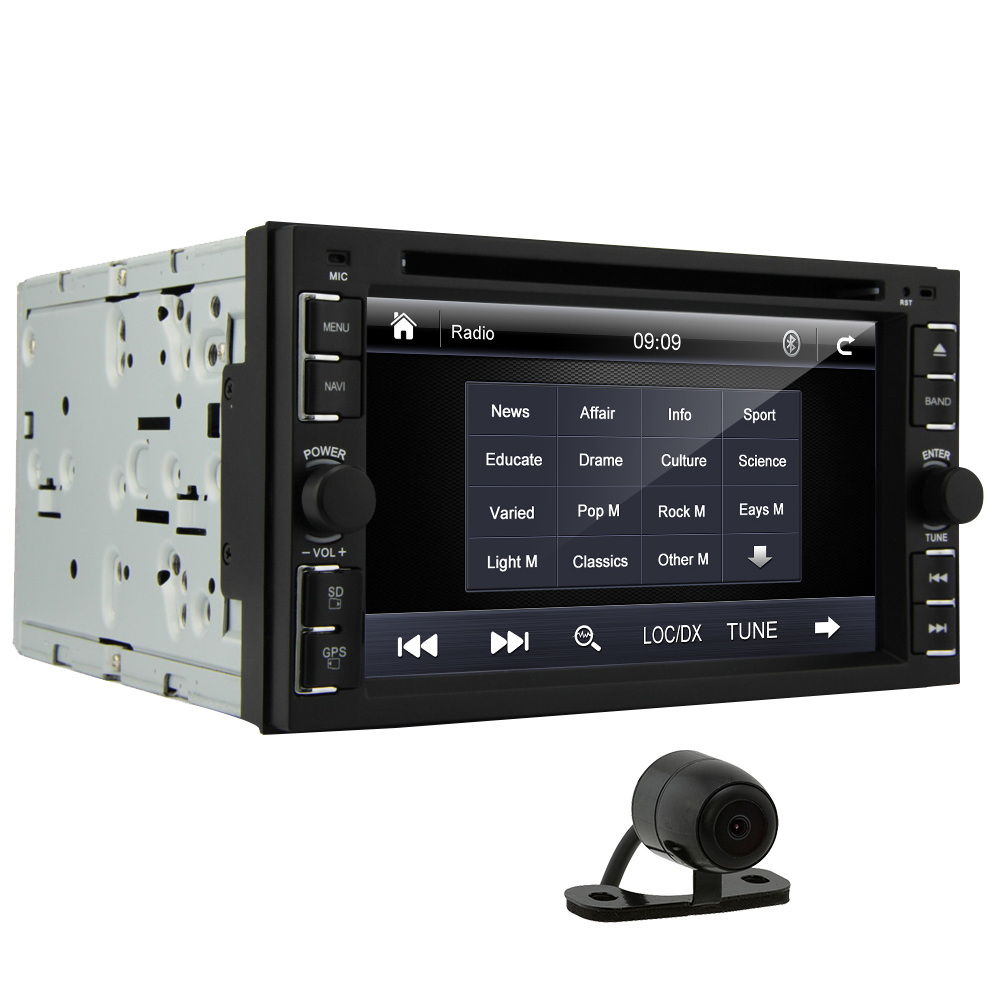 universal car radio 2din car multimedia double din car dvd player gps navigation autoradio. Black Bedroom Furniture Sets. Home Design Ideas