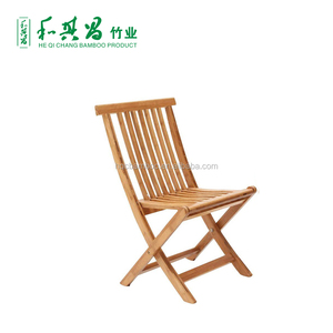 Hot sale space saving furniture bamboo wood chair for sale
