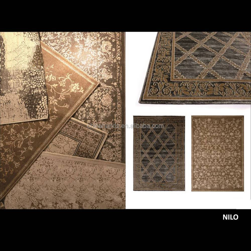 High quality decorative wool and silk carpet rugs belgium carpet display and carpet