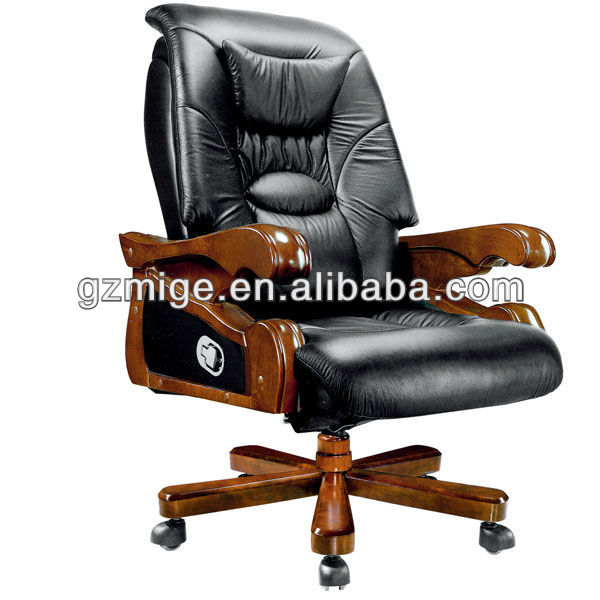 Original Leather Antique Office Chair