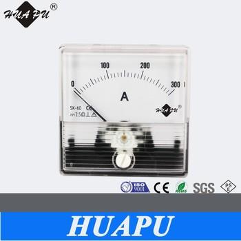 Hp-60 Analog Panel Meter Voltage Volt Meter Ac Dc Voltmeter ...