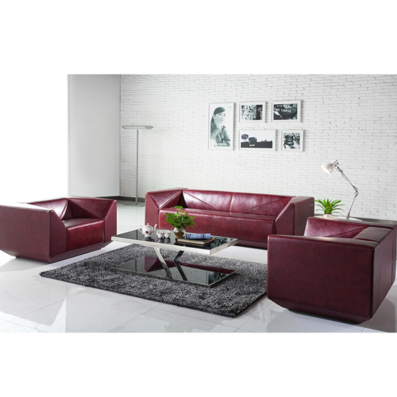 New Design Modern Office Red Leather Sofa Set For Office/living Room Prices  Cut In Half - Buy Office Leather Sofa Set,Office Red Leather Sofa,Office ...