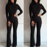 Cheap Bodysuits Woman Sexy Club Jumpsuits Casual Rompers Long Sleeve Bodycon Fitness One Piece Womens Jumpsuits Elegant Bodysuit