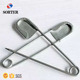 huge nickel plated stainless steel brass laundry safety pins