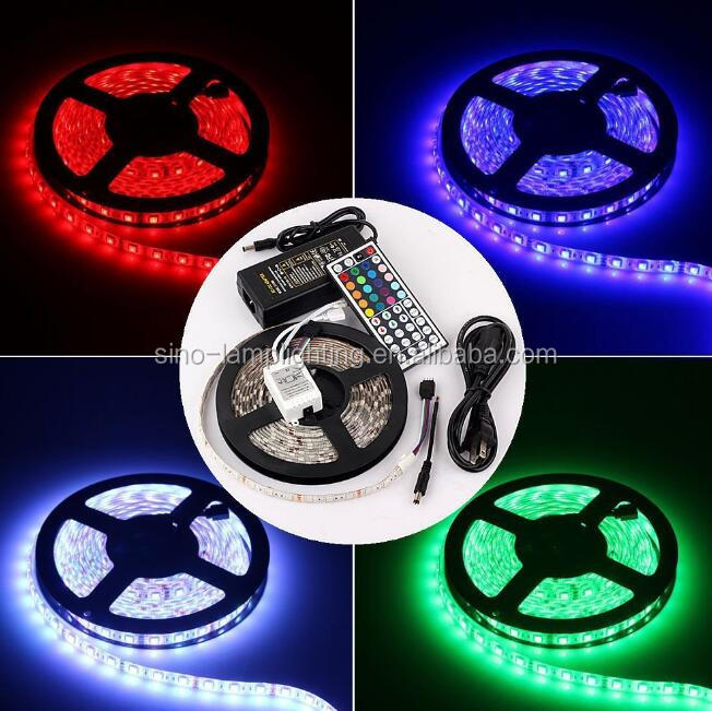Retail CE ROHS approved 5050 rgb christmas holiday strip light