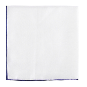 japanese white pocket Square for men solid color 100% natural pure silk handkerchief 33*33cm