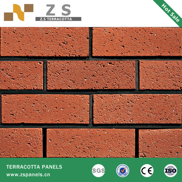 Exterior Wall Tile Grey Clinker Bricks Red Clay Brick Wall