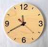 2017 new design wooden Wall Clock for hot sale
