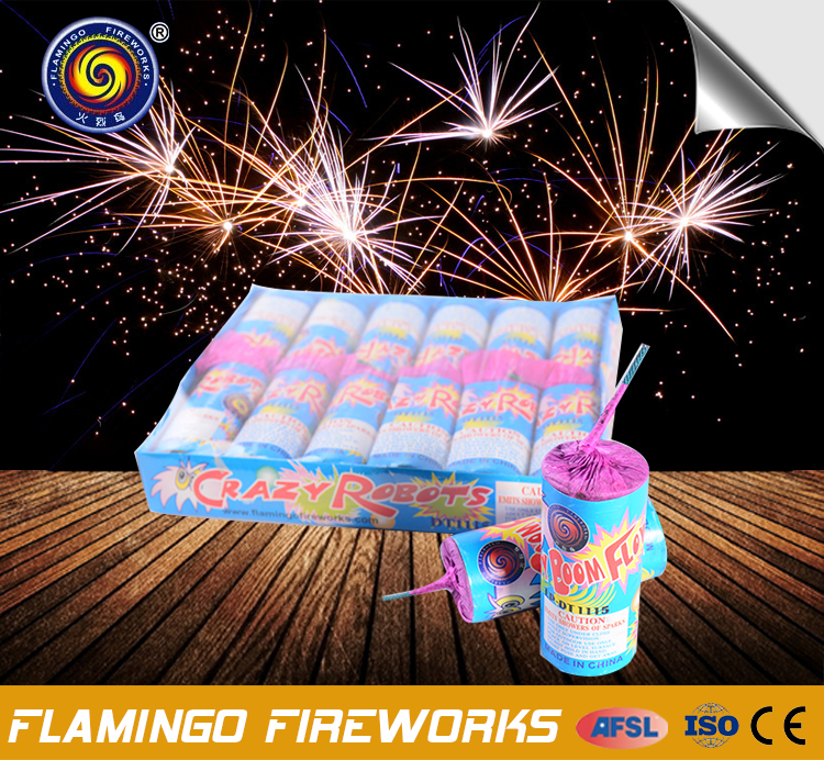 Alibaba express china Crazy Robots crackers / biscuits big cracker big sound fireworks