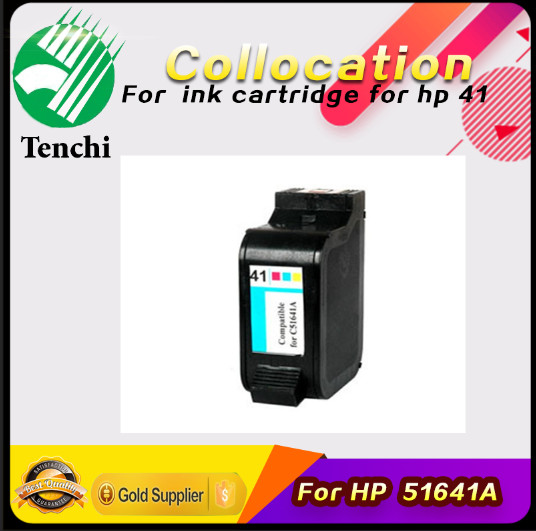 Factory direct sale!Remanufactured 30ML ink cartridge for HP 51641A use for 41 Deskjet 820c 820cse 850c 855c