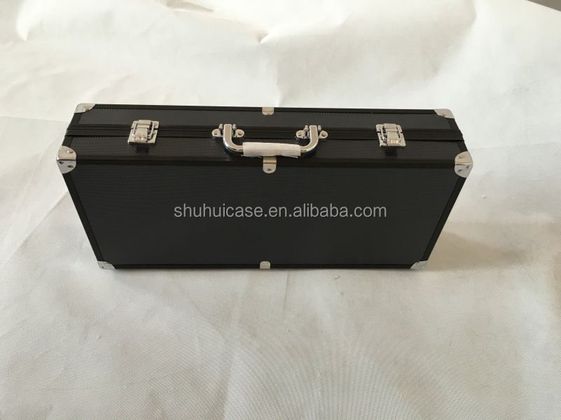 hot black aluminum alloy tool case