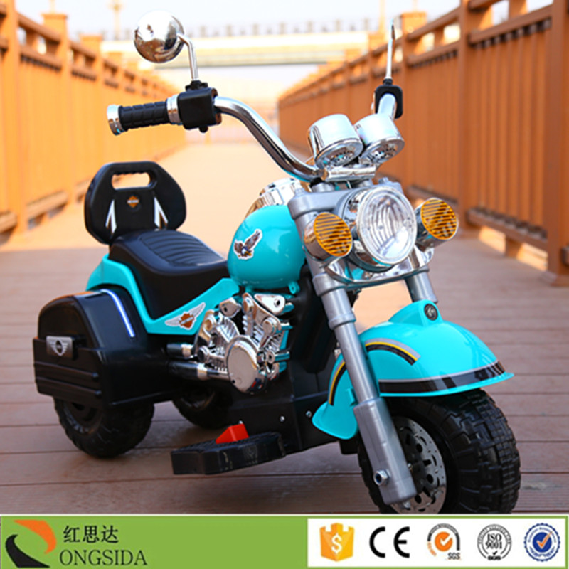 Factory Wholesale Kids 3 Wheel Motorcycle Electric Kids Motorbike for sale