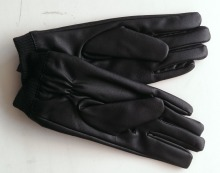 PU leather gloves magic touch screen gloves full touch gloves