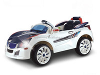 R/C & Foot-step Ride On Car with MP3 input, Music and Light,2-Motors Kids'Ride On Car