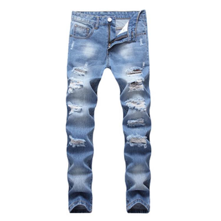 Pantalones Vaqueros Baratos Tx 405 Para Hombre Pantalon Vaquero Azul Claro Recto Con Agujeros Grandes Gran Oferta Buy Pantalones Vaqueros Azules Pantalones De Algodon Pantalones Vaqueros Chinos Product On Alibaba Com