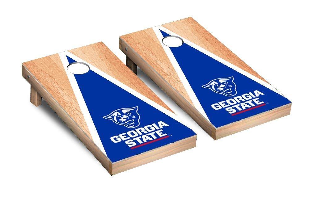NCAA Georgia State Panthers Hardcourt Triangle Version Cornhole Game Set