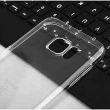 Super Thin Soft Clear silicon TPU phone Case For Samsung S7 edge transparent cover