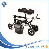 2015 new products Folding lightweight FDA CE approved knee scooter Economy steerable knee walker