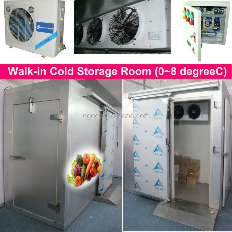 Aluminum Cold Storage Room / chill storage room for vegetable