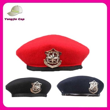 High Quality cheap berets for sale Costume Party senior Military decorate beret  hats 7fbc94b7950
