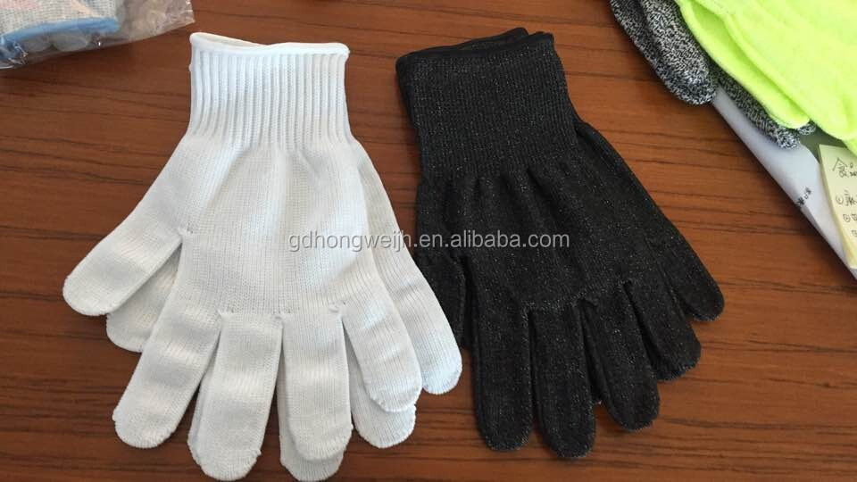 Sample Free Made In China 13G Black softtextile Latex Coated cut resistant Safety Working Gloves