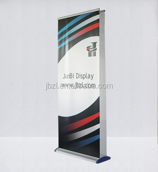 high quality portable practical advertising aluminum model 20 roll up banner standdouble side