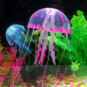 Fluorescence Aquarium Jellyfishsimulation Jellyfish Decorations For Fish Aquarium Buy Aquarium Decorationjellyfishjellyfish Decorations Product