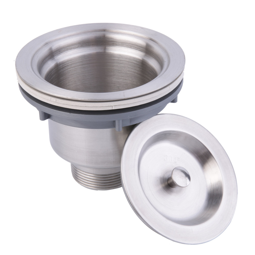 1 x Stainless Steel Kitchen Sink Strainer