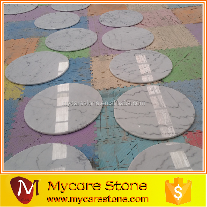 Hot sales Guangxi white Marble round table top