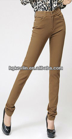 Top Supplier of fashion wholesale pencil jeans for lady