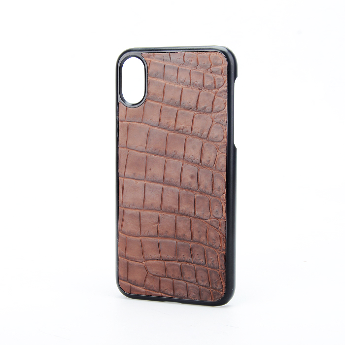Luxury 100% Genuine Crocodile Belly Skin Phone Case
