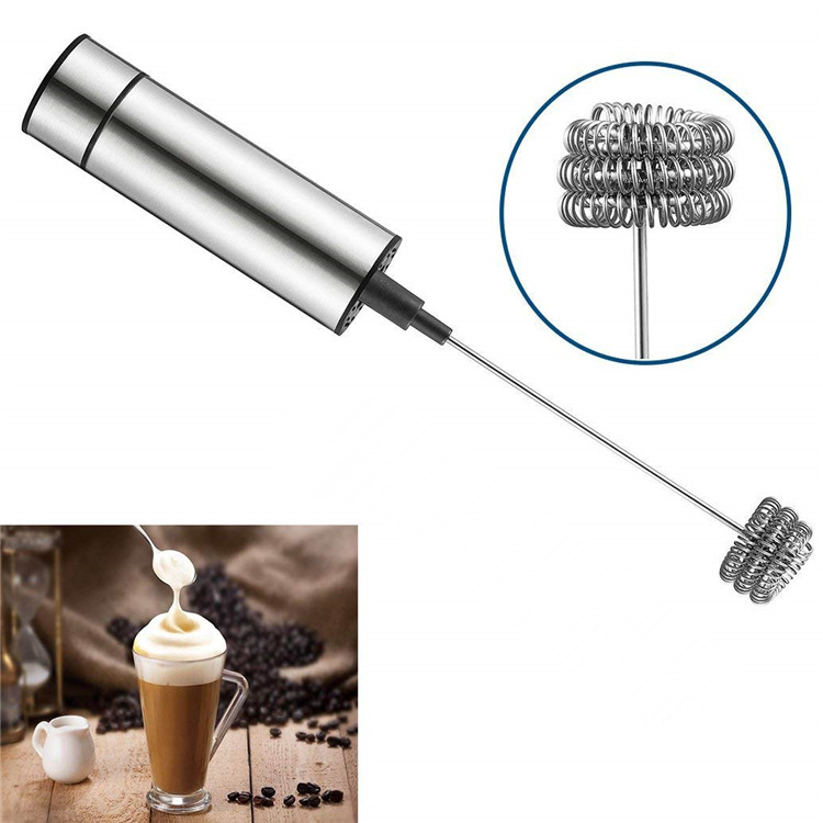 Coffee Frother Battery Operated Foam