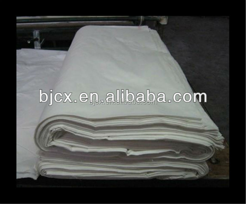 poly cotton mixed woven twill fabric
