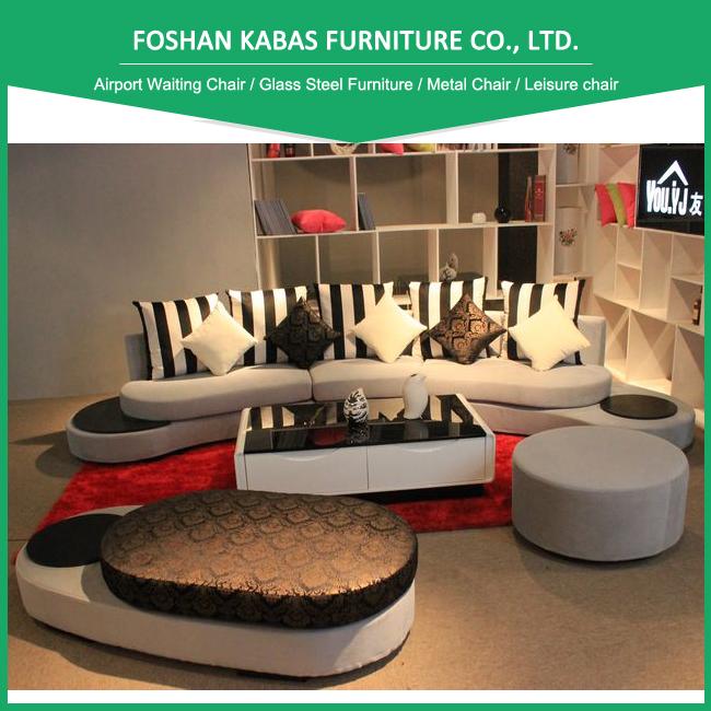 Moderne Wohnzimmermoebel Set : Heißer verkauf moderne möbel stoff couch wohnzimmer
