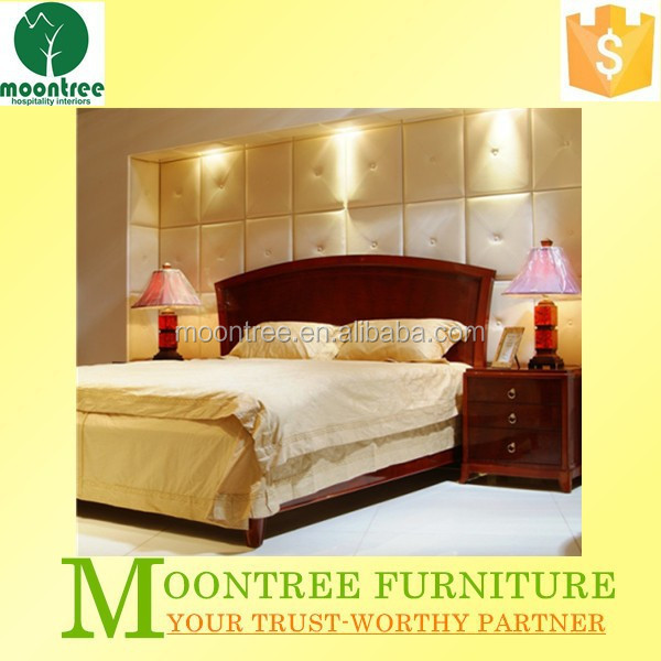 2015 Best Selling MBR-1304 Top Quality Crocodile Leather Bed Home Furniture