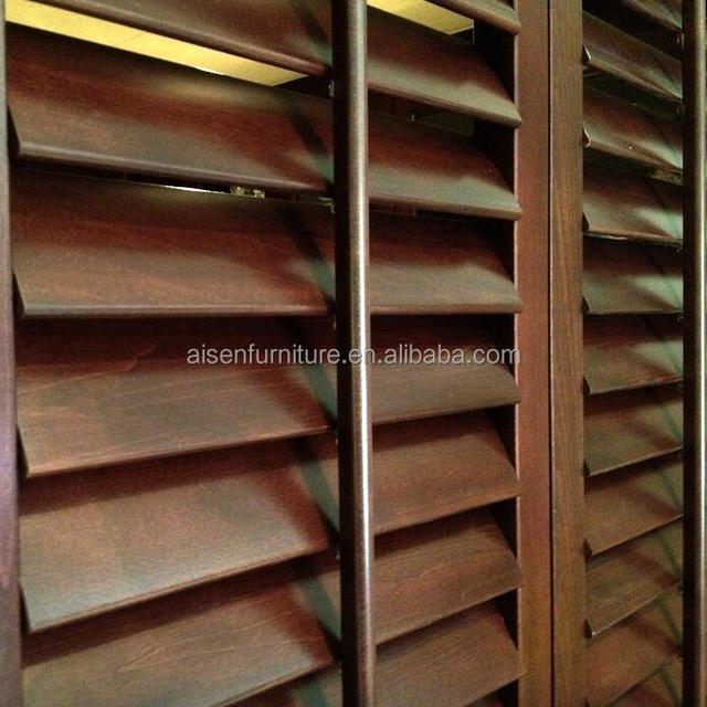 Durable And Strong WIth Top Quality Wooden Plantation Shutter