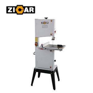 ZICAR BS10 wood cutting mini band saw machine, mini wood band saw