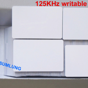50pcs 125KHz UID Writable RFID EM Proximity ID Cards ISO EM4100 and compatible for Access Control Duplicate Door Alarm