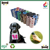 Designer pet products scented convenient dog garbage bag